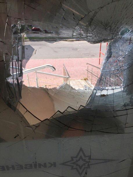 Возмущенные жители столицы разгромили центры «Киевэнерго» (фото)