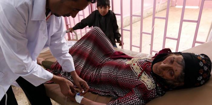 Вспышка холеры поразила 1 млн человек в Йемене