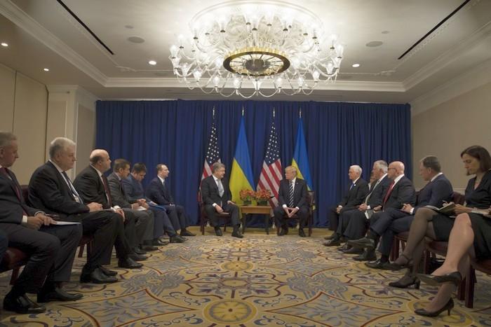 Вторая встреча Порошенко и Трампа: о чем говорили лидеры Украины и США