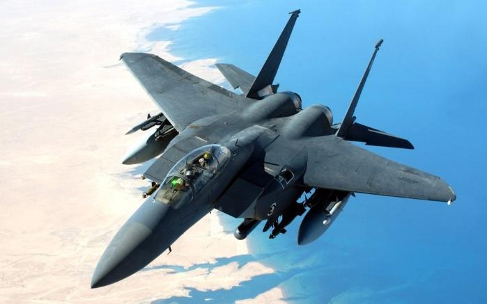 ВВС США оснастят лазерным оружием истребители F-15