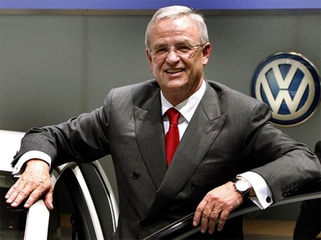 После скандала гендиректор Volkswagen Винтеркорн уходит в отставку
