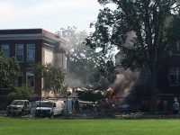 Взрыв в американской школе, есть жертвы