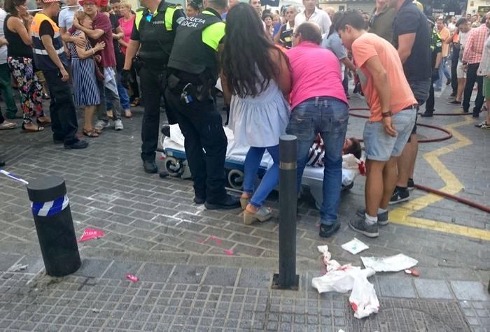 Взрыв в Испании: в Малаге пострадали около 90 человек (фото)