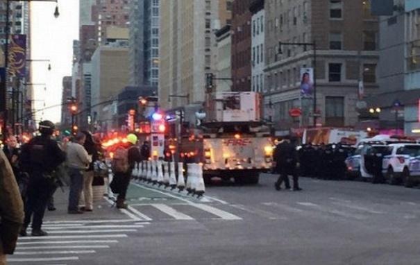 Взрыв в Нью-Йорке: эвакуируют автовокзал на Манхэттене и три линии метро