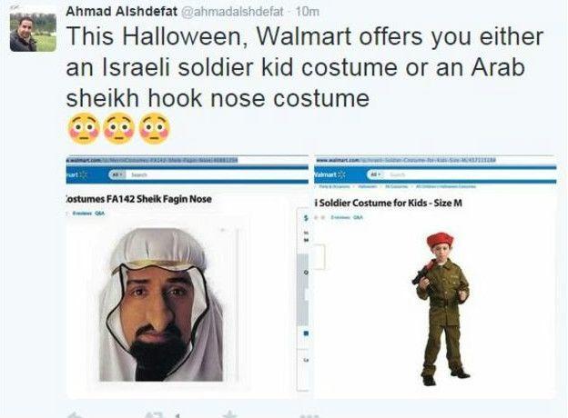 Walmart раскритиковали за продажу  детского костюма солдата израильской армии