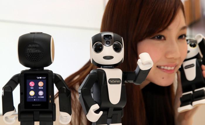 Японские фирмы запустили прокат роботизированных телефонов для иностранных туристов