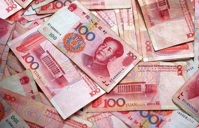 За месяц международные резервы Китая сократились на $100 миллиардов
