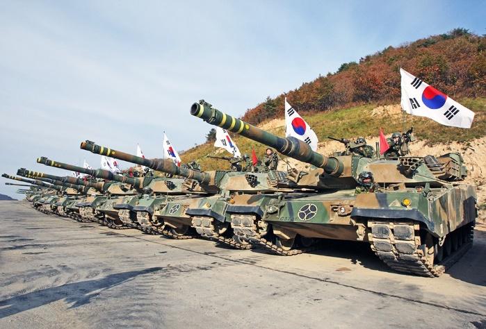 Южная Корея с семью странами проведет масштабные военные учения