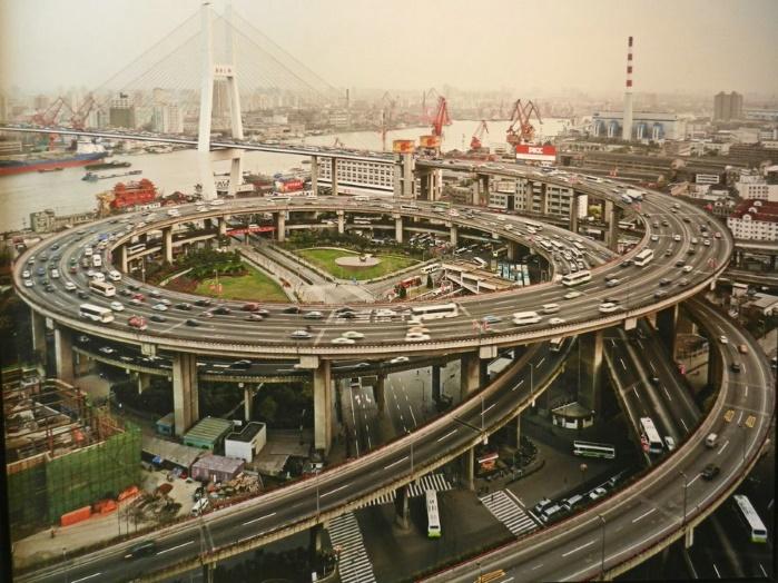 За пять лет китайцы построили530 тысяч км дорог