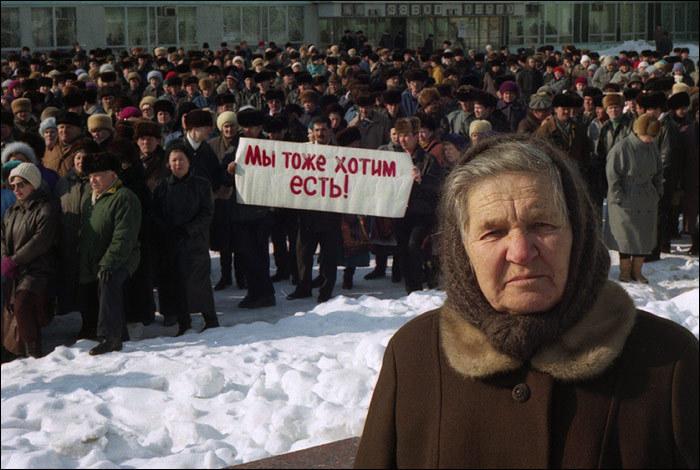 """В регионах России забастовки: уровень жизни заметно упал, хотя """"санкции не действуют"""""""