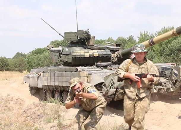 Учения, армия, резервист, солдат, ВСУ