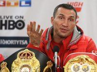 Видеозаявление Владимира Кличко о завершении карьеры боксера