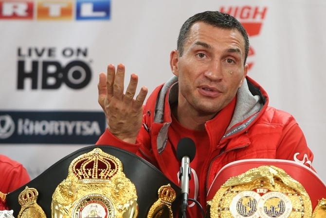 Заявление Владимира Кличко о завершении карьеры боксера (видео)