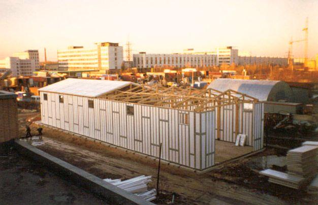Бизнес идея: возведение серийных зданий