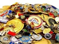 Реализация значков, медалей и наград