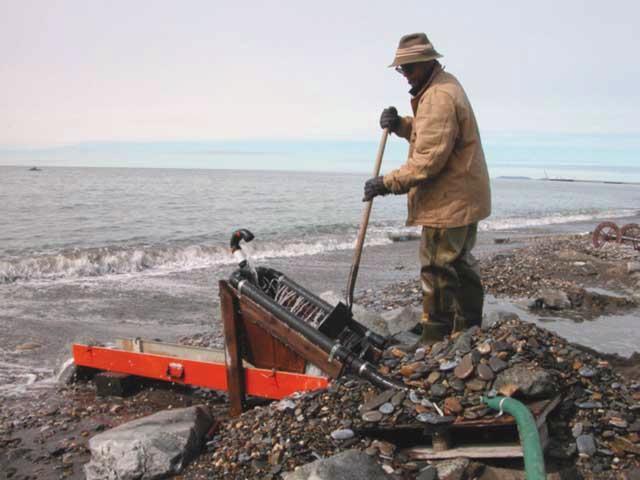 Найдено первое подводное месторождение золота в Китае