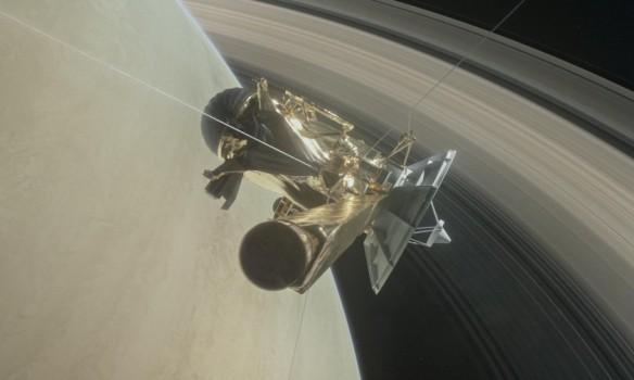 Зонд Cassini вскоре полностью завершит свою миссию (фото, видео)